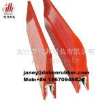 컨베이어를 위한 노화 방지 폴리우레탄 긁는 도구 잎
