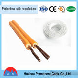 Câble de cuivre recuit flexible de Spt de câble parallèle