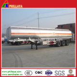 3 de Tankwagen van het Roestvrij staal van assen 50000L met Semi Aanhangwagen
