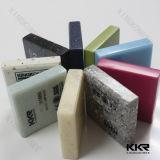 Strato di superficie solido acrilico puro di bianco 100% della pianura del materiale da costruzione