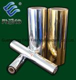 Пленка золотистая/серебром металлизированная термально прокатывая