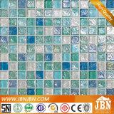 浴室の壁(L1425001)のための内陸様式の泡ガラスモザイク