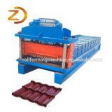 Painel de chapa de tejadilho de ferro mais máquina de formação de rolos