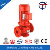 Pompe centrifuge verticale de canalisation d'approvisionnement en eau d'incendie de Xbd