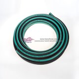 SAE100 R3 R6 Faser-umsponnener flexibler hydraulischer Gummischlauch