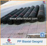 Geogrid biassiale di plastica per stabilizzazione del suolo