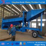 Trommel da lavagem do ouro para a indústria de processamento da mineração