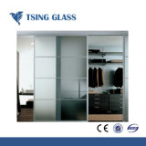 glas van het Glas van 8/10/12mm het Duidelijke Berijpte Zure Geëtsten/Gezandstraald Glas/Semi-Transparent Glas voor Balustrades/Leuningen