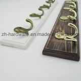 Bello amo di prima scelta dei vestiti di legno & amo della scheda del metallo (ZH-7004)