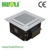 Tipo cassette de 4 vías de la unidad de la bobina del ventilador de techo para el sistema HVAC