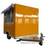 Boire de l'alimentation chariot mobile qui voyagent Panier deux essieux remorque alimentaire