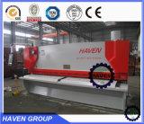 Máquina hidráulica QC12Y-6X3200 do feixe do balanço de E21S do corte e de estaca