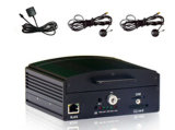 4 CH HDD CCTV DVR móvel completo 4 canais D1 DVR H. 264 Real-Time