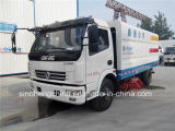 Camion della spazzatrice di strada della via di pulizia di vuoto di Dongfeng Dlk 4X2 LHD 5m3