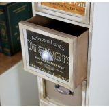 Gavetas de madeira de estilo europeu Armários de armazenamento de caixas Armários Móveis de madeira para casa