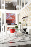 Disegno A Mano Colore Rosso Crystal Mosaic (CD454)