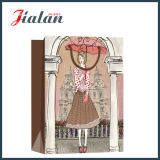 Garments Packaging Shopping Carrier der Form-Dame Papiergeschenk-Beutel