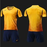 Modificar el entrenamiento Sportsuit Sportwear corriente de secado rápido del balompié para requisitos particulares de la camiseta del fútbol de la impresión