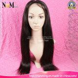 perucas cheias dianteiras retas de seda brasileiras do cabelo humano do laço da densidade de 130% 150% 180% 200%