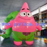 갯솜 아기 팽창식 만화 모형