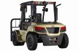 U Series Capacity 8000kg Op zwaar werk berekende 8t Diesel Forklift van de V.N.