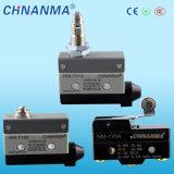 commutateur de limite électrique de plongeur de rouleau de croix de support de panneau de 10A 250VAC