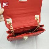 Signora alla moda Saffiano Crossbody Bag con la catena e la serratura