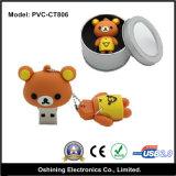 USB Flash Disk (PVC-CT806) di Bear Cartoon 8GB del bambino