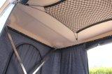 2-3 شخص يستعصي قشرة قذيفة سيدة سقف أعلى خيمة مع من