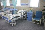 ABS van het Meubilair van het ziekenhuis de Blauwe Plastic Kast van het Bed (ag-BC006)