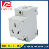 Corta-circuito modular de la aprobación MCCB MCB RCCB de RoHS del Ce de los socketes 3plugs 10-16AMP del carril del estruendo AC30