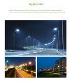 5 da garantia 100W da estrada do diodo emissor de luz anos de luz de rua com poder superior da microplaqueta do CREE