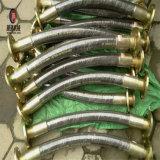 Boyau en caoutchouc hydraulique renforcé à haute pression de fil d'acier