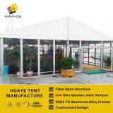 Tent van het Restaurant van de premie de Semi Permanente met de Muren van het Glas (hy011b)