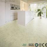 Textura de pedra de plástico impermeável piso em PVC para interior
