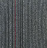 Tapis de nylon à haut trafic 50*50 Bureau de jacquard carreaux de tapis de plancher de soutien de bitume
