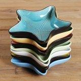 Nuevo diseño de cerámica de porcelana vajilla platos para el Hotel y restaurante
