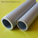 6061 6063 grande épaisseur du tube en aluminium, rectangulaire tuyau en aluminium fini usine) pour usage industriel