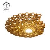 Le luxe Honeycomb changeant de couleur LED lampe de plafond en résine
