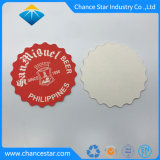 Custom печать впитывающей бумаги мякоти чашку чая американских горок