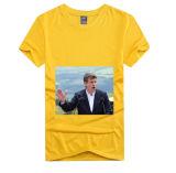 Prezzo poco costoso di marchio dell'OEM della nuova di disegno di Short del manicotto di polo delle magliette di voto di Digitahi di stampa della maglietta di elezione della camicia fabbrica su ordinazione di alta qualità