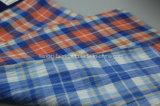 Teñido de hilados de algodón Sarga elástica Fabric-Lz8320