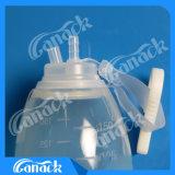 Близкий шарик силикона системы сбора сточных вод раны