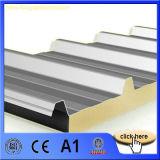 El panel de emparedado de aluminio superior de las lanas de cristal