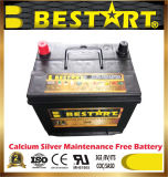 Precio al por mayor 12V60Ah Bci de la batería de coche estándar de piezas de automóviles de China 35-630