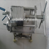 Plaque en acier inoxydable et presse-filtre à huile de peinture à cadre en acier inoxydable (BAS100 ... 11)