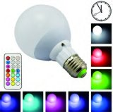 3W 5W 7W 9W E14 E17 E27 LED de iluminação doméstica Lâmpada Rbg Inteligente com lâmpadas de cor