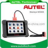 Auropeanアジア日本のアメリカ車のためのAutel Maxisys Ms906車の診断機械はAutel Maxidas Ds708よりよくする
