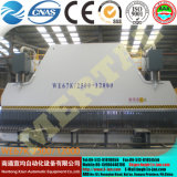 Placa dobradeira máquina de dobragem com alta precisão CNC