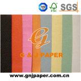 Images colorées de taille standard de papier non couché sans bois